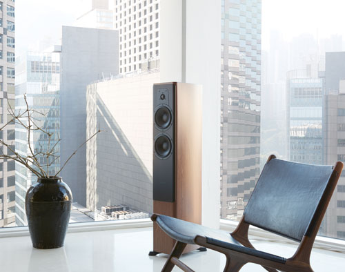 Dynaudio-Contour-speaker-in-skyscraper